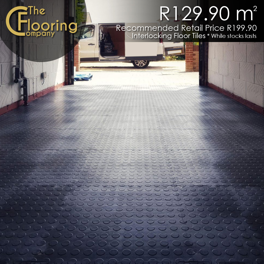 Interlocking PVC Floor Tiles